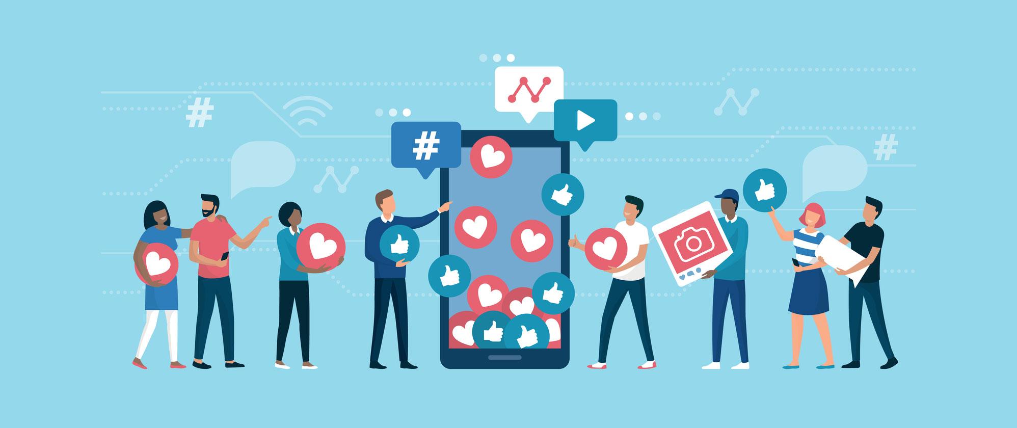 نقش شبکه های اجتماعی در سئو