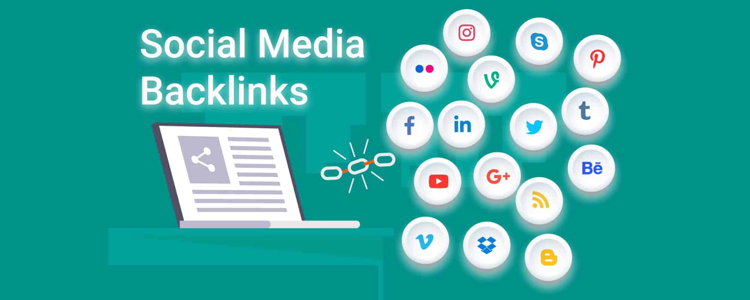 بک لینک شبکه های اجتماعی