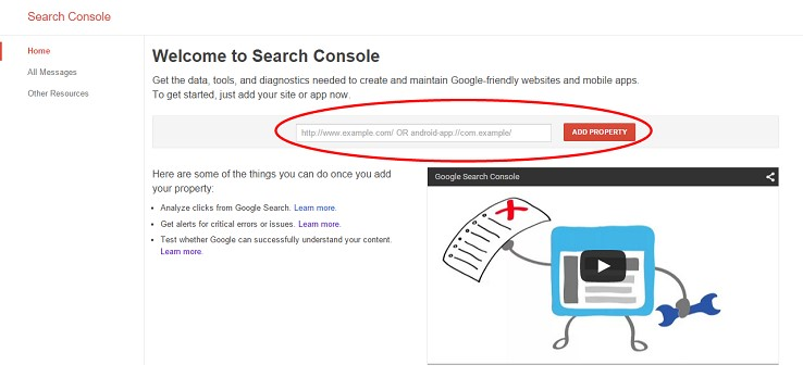 گوگل کنسول چیست